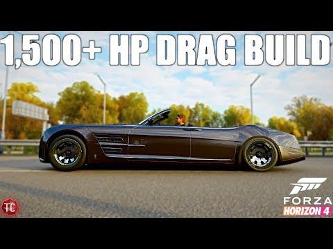 Forza Horizon 4: Quartz Regalia Drag Build! 1,500+ Horsepower! thumbnail
