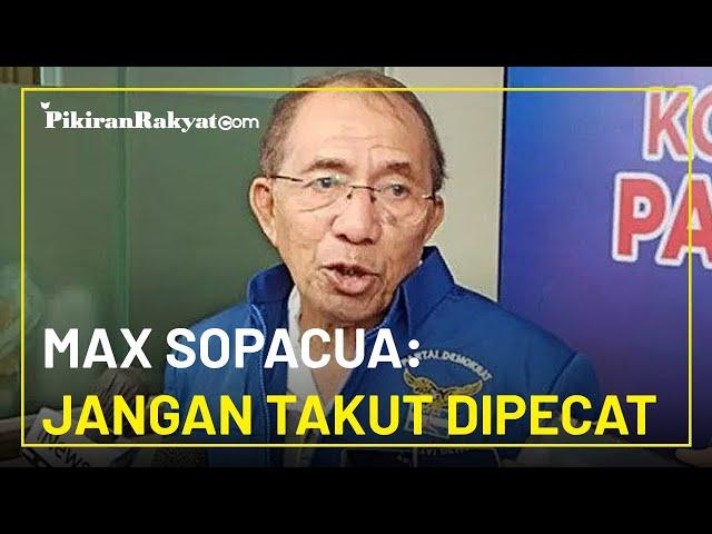 Klaim 1.200 Kader Hadiri Kongres Luar Biasa Partai Demokrat, Max Sopacua: Jangan Takut Dipecat