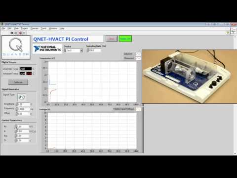 QNET Heating Ventilation and Air Conditioning Trainer