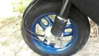 Oldida anthers uchun scooter original Honda bu Dio AF-62/61/67/68 o'rniga vilkalar.