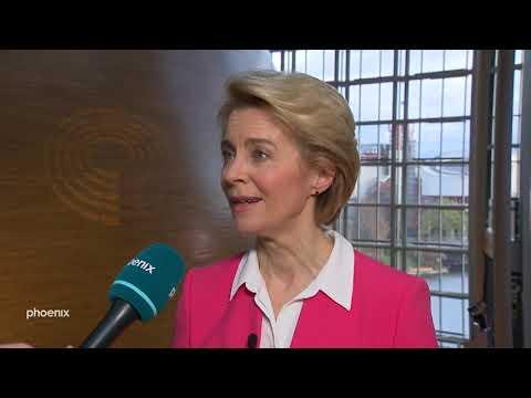 EU-Kommissionspräsidentin Ursula von der Leyen im Interview