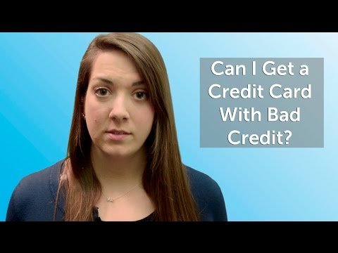Can Get Credit Card With Bad Credit
