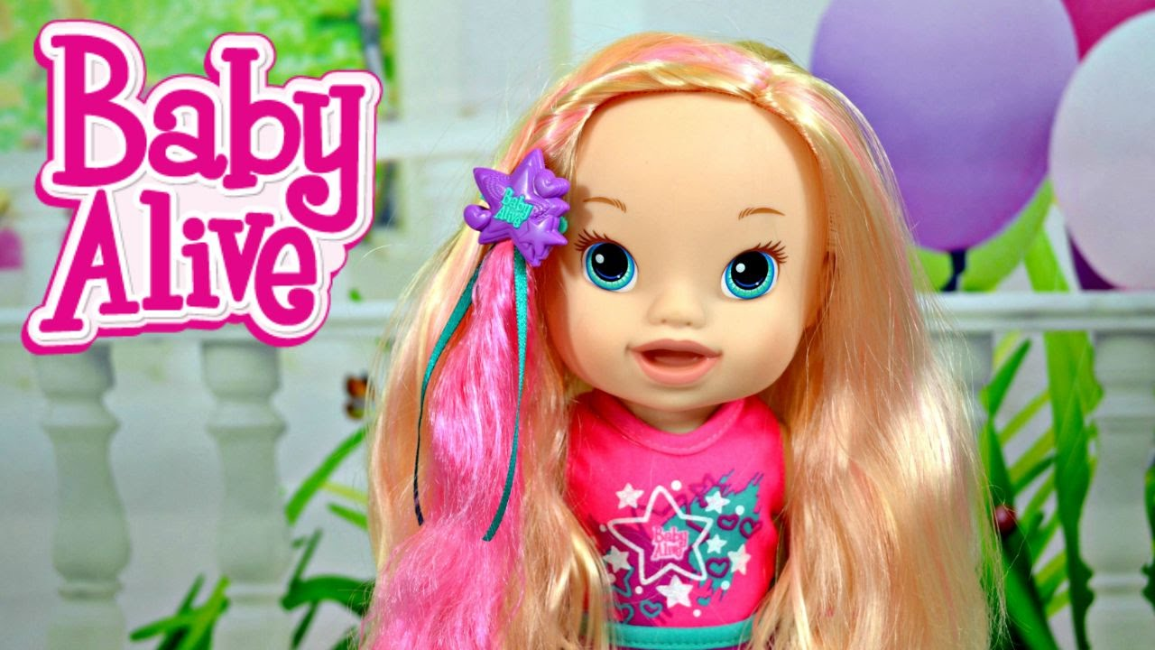 Styling Doll Hair Baby Alive Play 'n Style Christina Baby Doll Hair Tutorial Styling .