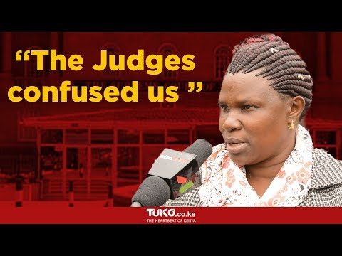 Kenyans react to supreme court's final verdict