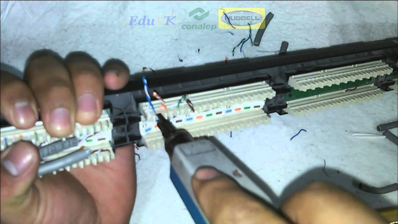 REMATE EN PATCH PANEL - YouTube