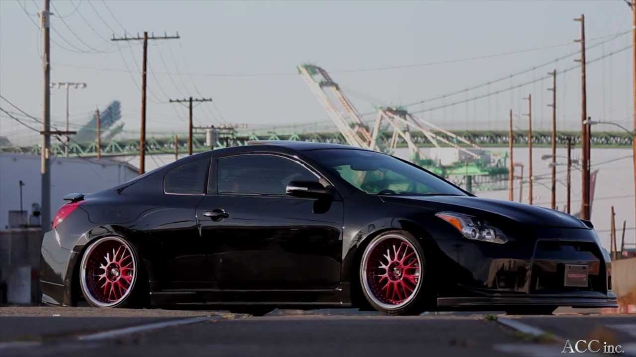 Acctv Nissan Altima Coupe Airrunner Youtube