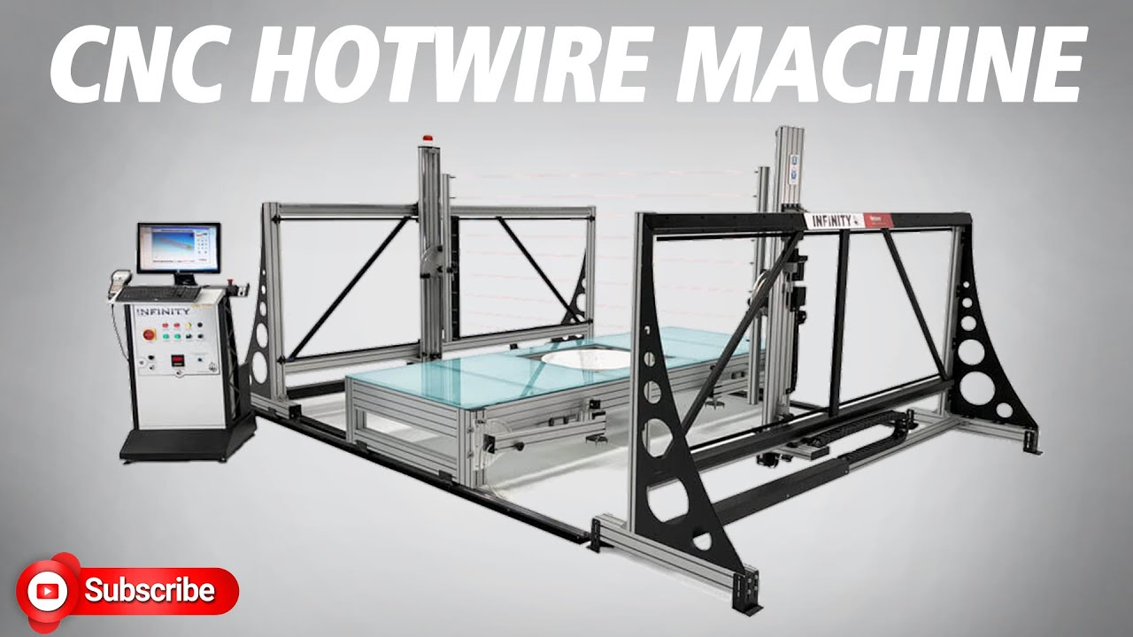 INFINITY - hotwire cnc foam cutting machine - YouTube