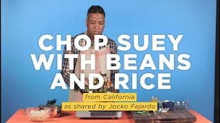 Chop Suey With Beans And Rice: A Mexican-Chinese-American fusion. I NPR Hot Pot