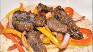 How To Make Fajitas, Steak Fajitas, Fajita Marinade - Cookwithapril