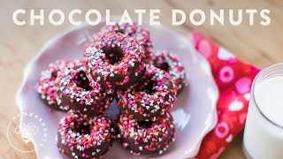 Bake Chocolate Donuts for Someone Special - Honeysuckle