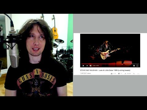 British guitarist reaction to Stevie Ray Vaughn's LIVE ...