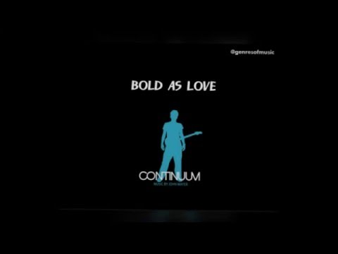 how to play bold as love john mayer