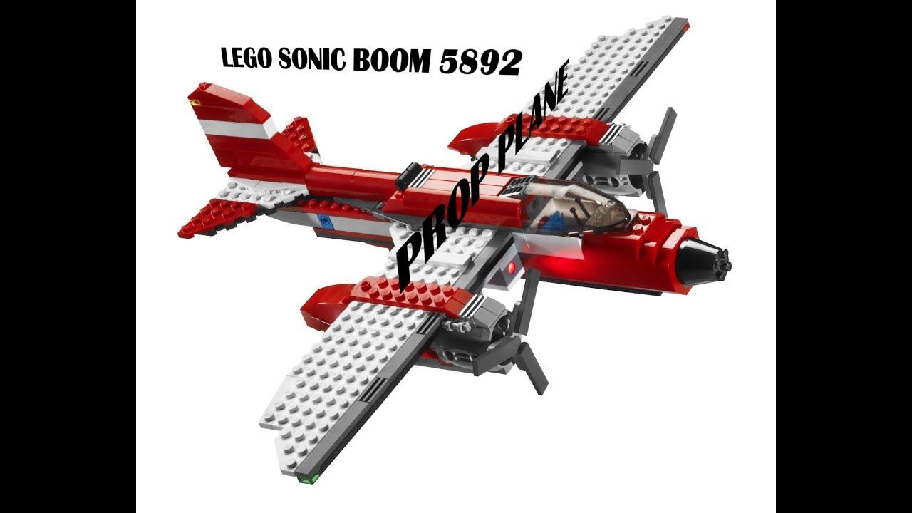 Lego sonic boom prop plane 5892 youtube - Lego sonic boom ...