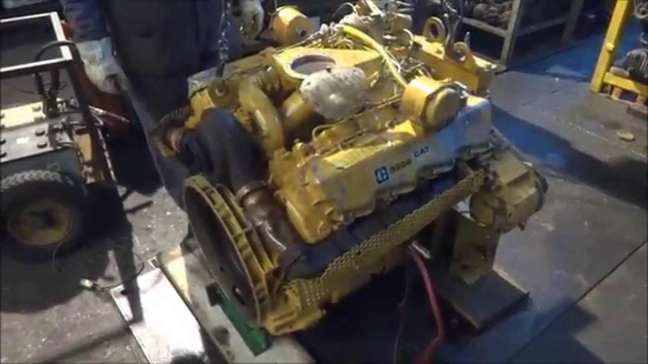 Caterpillar 3208 turbo engine  YouTube