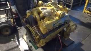Caterpillar 3208 turbo engine