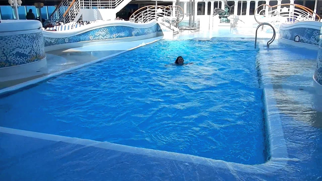 Swimming In A Pool On A Rocking Cruise Ship YouTube - Rocking cruise ship
