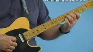 guitar lesson diminished 7th chords