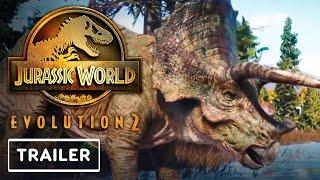 Jurassic World Evolution 2 - Triceratops Trailer | E3 2021