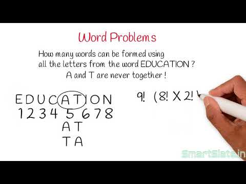 Solving Problems Part  3-Word And People Arrangement Problems(Permutations And Combinations)