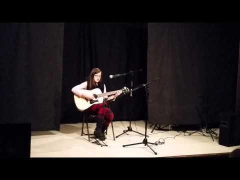 Kate's First Guitar Recital