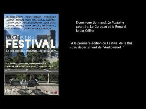 """#FestivalBnF : Dominique Bonnaud, """"Le Corbeau et le renard"""" lu par Céline"""
