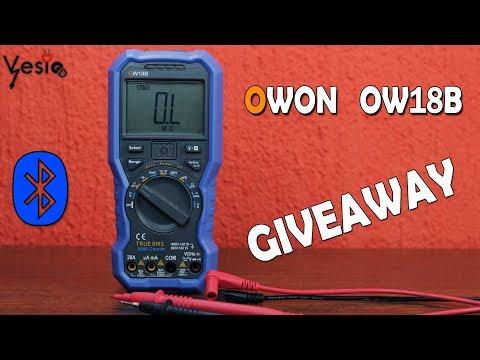 Owon OW18B multimetar sa LED lampom + GIVEAWAY