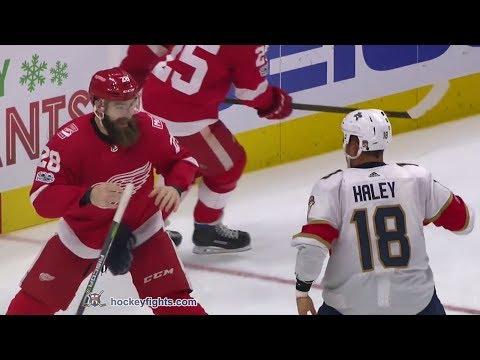 Micheal Haley vs Luke Witkowski Dec 11, 2017 (Round 2)