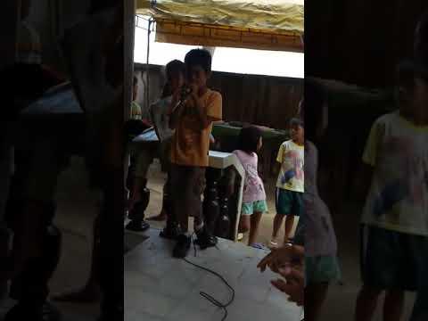 Karaoke kid of San Teodoro Oriental Mindoro