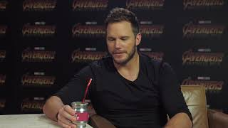 Avengers  Infinity War   Chris Pratt probando platos típicos latinoamericanos
