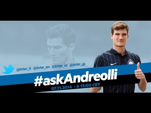 Live! Chat in diretta  #askAndreolli 07.11.2014 h 13:00 CET