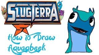 How To Draw Aquabeek (SLUGTERRA)