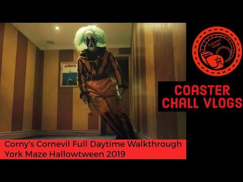 Corny's Cornevil Full Daytime Walkthrough York Maze Hallowtween 2019