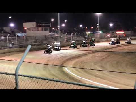 Delta Speedway Turkey Bowl 10/26/18 Restricted Heat 1