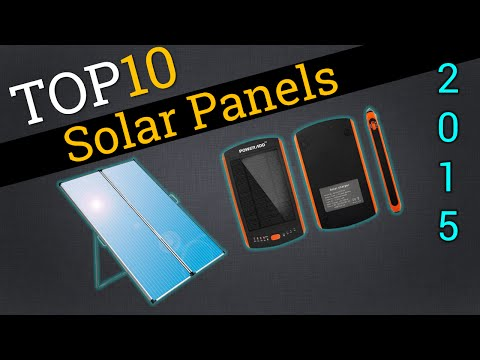 Top 10 Solar Panels 2015 | Compare Best Solar Panels