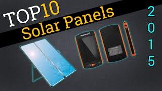 Top 10 Solar Panels 2015 | Compare Best Solar Panels