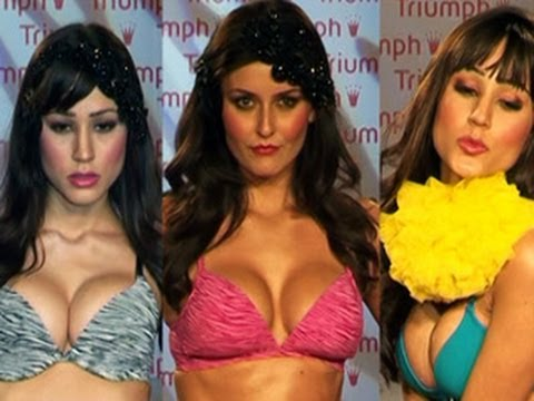 HOT & SEXY Triumph Lingerie Fashion Show 2012