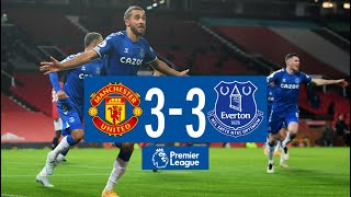 MAN UNITED 3-3 EVERTON | PREMIER LEAGUE HIGHLIGHTS