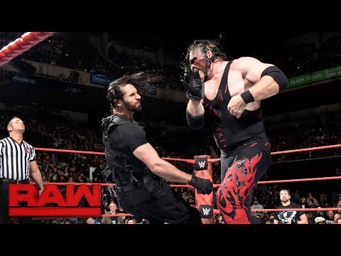 A Big Game Between Seth Rollins And Kane: | HD Highligts