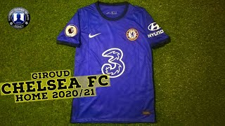 Nike Chelsea FC 2020/21 Giroud Home Review + Try on!! (AliExpress)