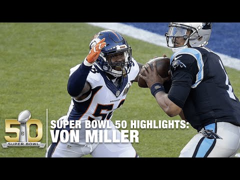 Von Miller Super Bowl 50 MVP Highlights | Panthers vs. Broncos | NFL