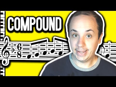 Understanding 6/8 9/8 and 12/8 (Compound) Time Signatures