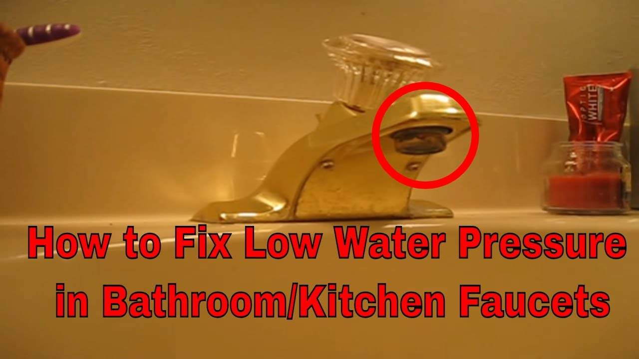 How To Clean A Clogged Bathroom Or Kitchen Faucet Aerator | Change Faucet  Aerator
