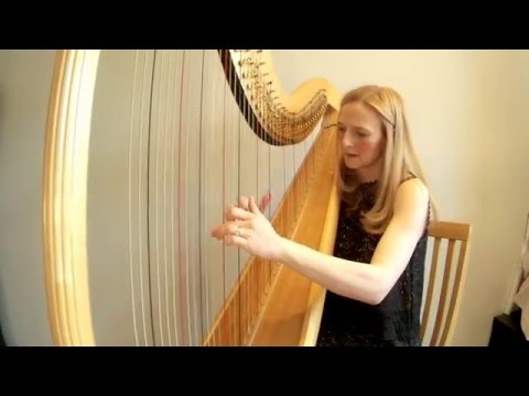 Spanish Romance played on harp