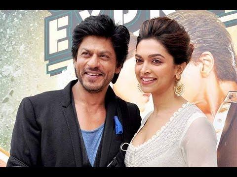 Shahrukh Khan & Deepika Padukone LIVE!
