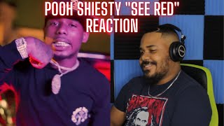 Pooh Shiesty See Red Reaction
