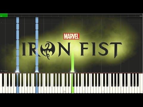 Iron Fist Opening Theme [Synthesia Piano Tutorial]