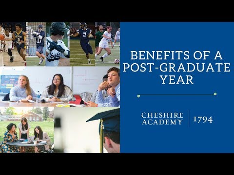 The Benefits of a Post-Graduate Year at Cheshire Academy