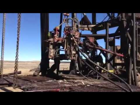 Wyoming work over rig