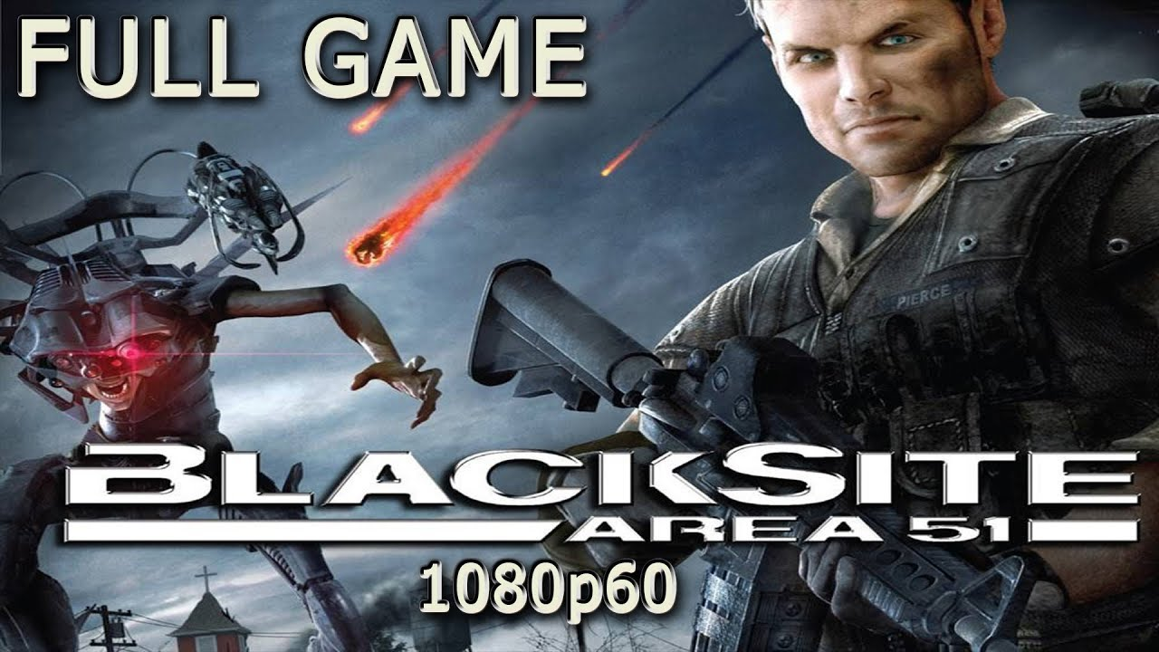 Download BlackSite: Area 51 (Xbox 360) -  Full Game 1080p60 HD Walkthrough - No Commentary