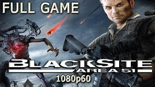 BlackSite: Area 51 (Xbox 360) -  Full Game 1080p60 HD Walkthrough - No Commentary